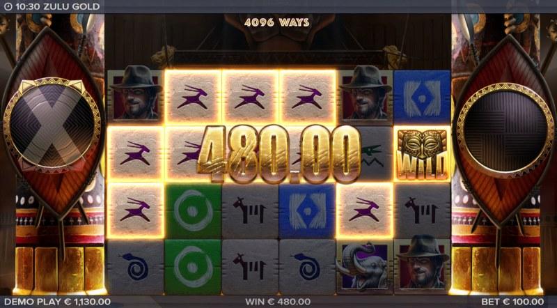 Zulu Gold :: A six of a kind win